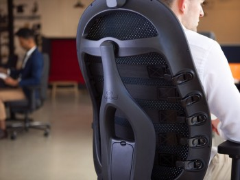 cpod mesh, mesh office chair, executive office chair, ergonomic office chair, office chair with headrest
